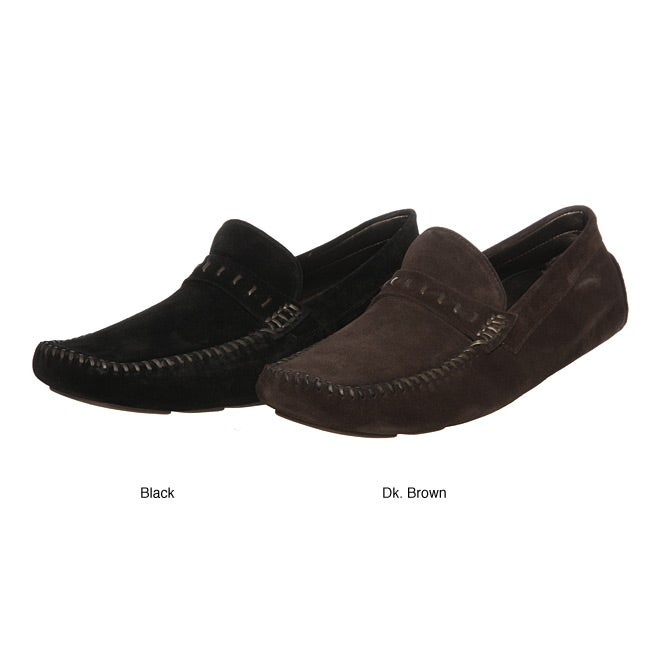 cd386b20f3c Shop Robert Zur Men s  Glove Penny  Slip-on Loafers - Free Shipping On  Orders Over  45 - Overstock - 5124166