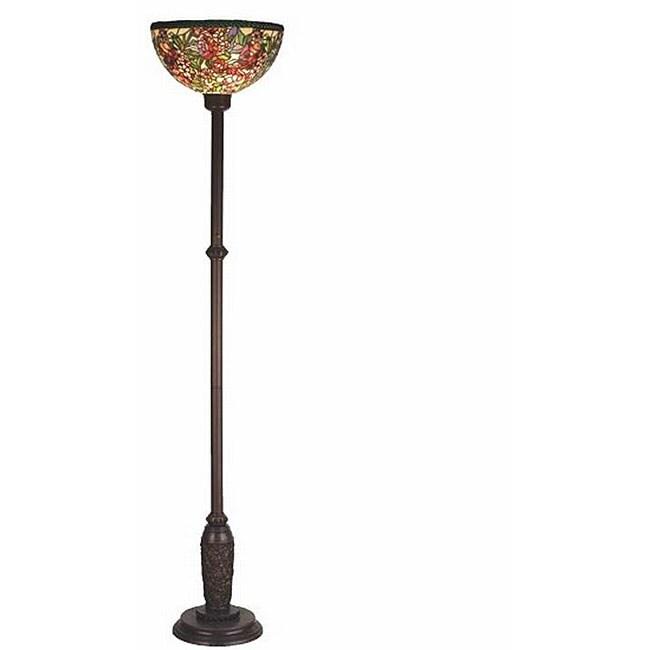 Romance Rose Bronze Floor Lamp