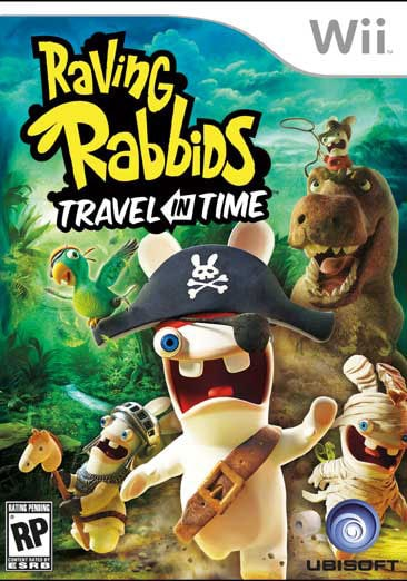 Wii - Raving Rabbids Travel in Time - By UbiSoft