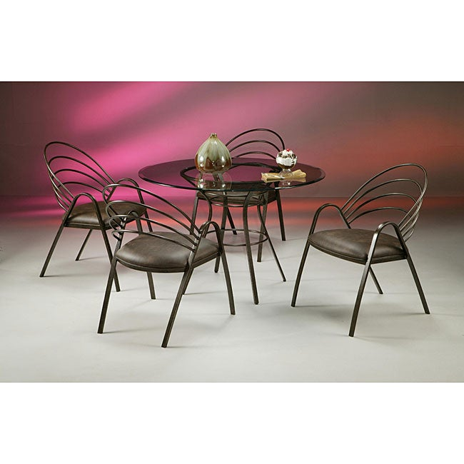 La Costa Brown Metal Dining Set - Thumbnail 0