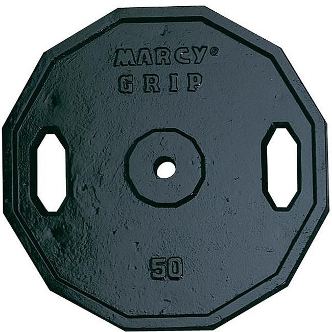 Marcy 50-pound Standard Grip Plate