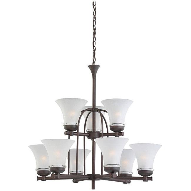 Newport 9-light Bronze Chandelier