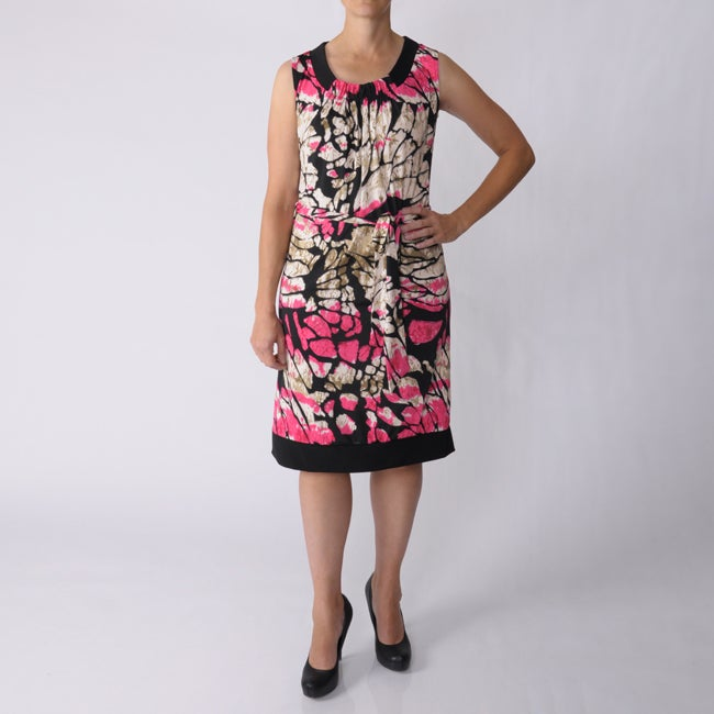 Adi Designs Women's Missy Stretch Knit Dress