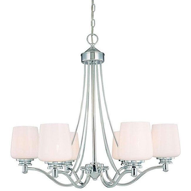 Savoy House Westbury 6-light Chandelier - Thumbnail 0