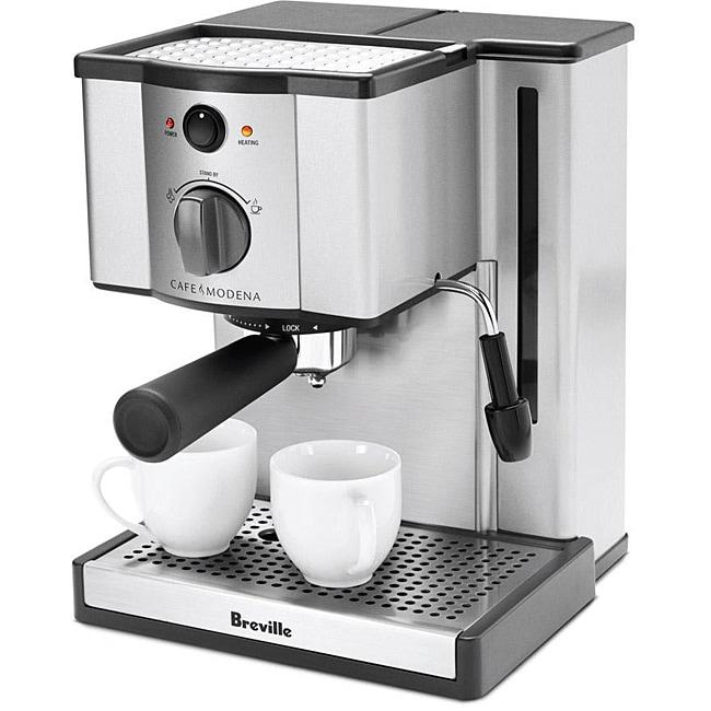 breville esp6sxl u0027cafe modenau0027 espresso machine