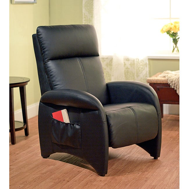 Simple Living Addin Black Recliner - Free Shipping Today - Overstock.com - 12978739