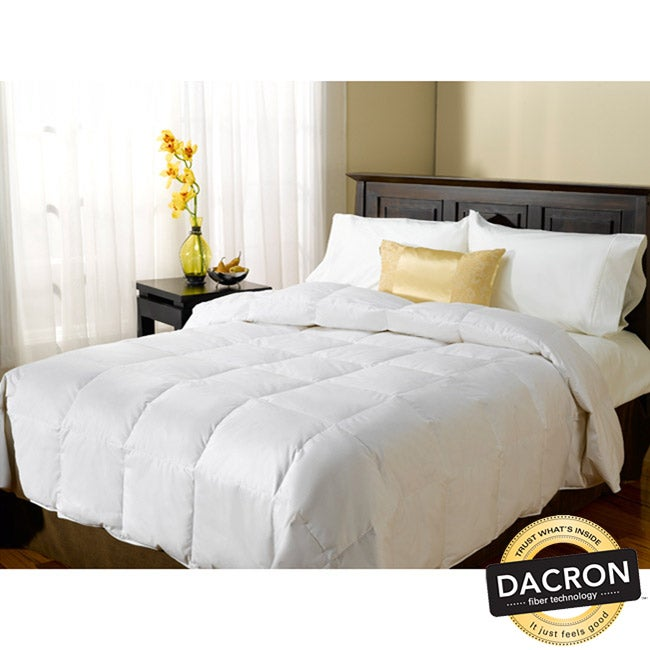 serta level 3 kingsize down alternative comforter