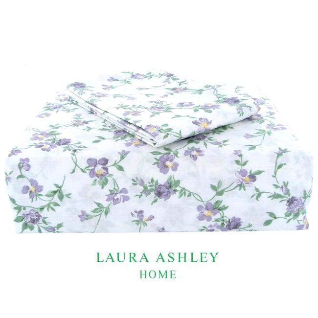 Laura Ashley Taylor Lilac 200 Thread Count Sheet Set