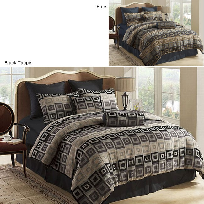 Garret 8-piece Comforter Set - Thumbnail 0