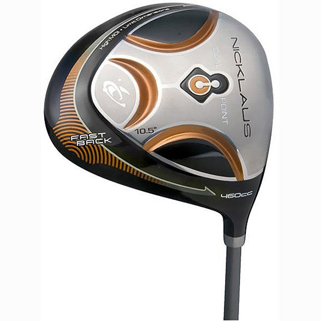 Nicklaus Mens' Dual Point Fastback Driver
