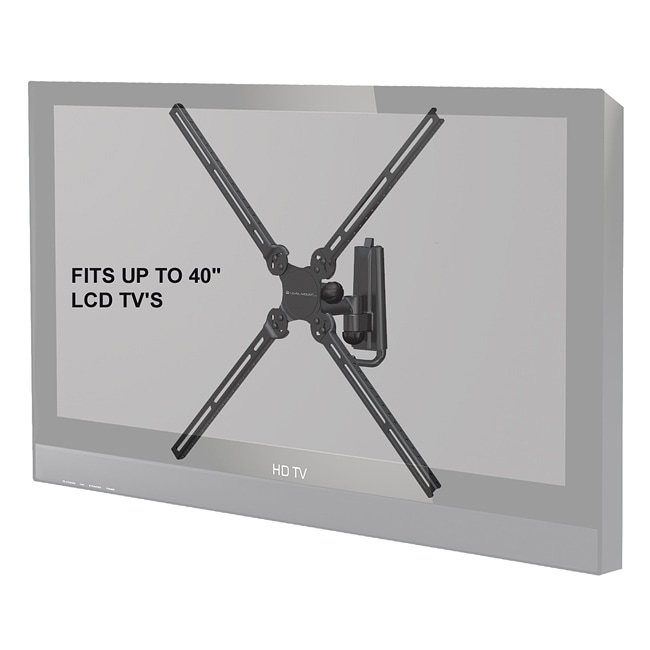 Level Mount AIMOA Full Motion Single Arm 10 to 40-inch TV Mount
