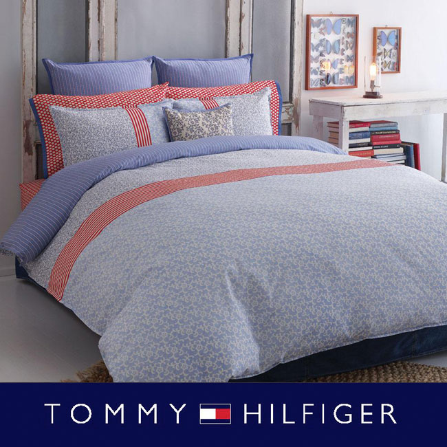 Tommy Hilfiger Boho 200 Thread Count Twin-size Duvet Cover Set