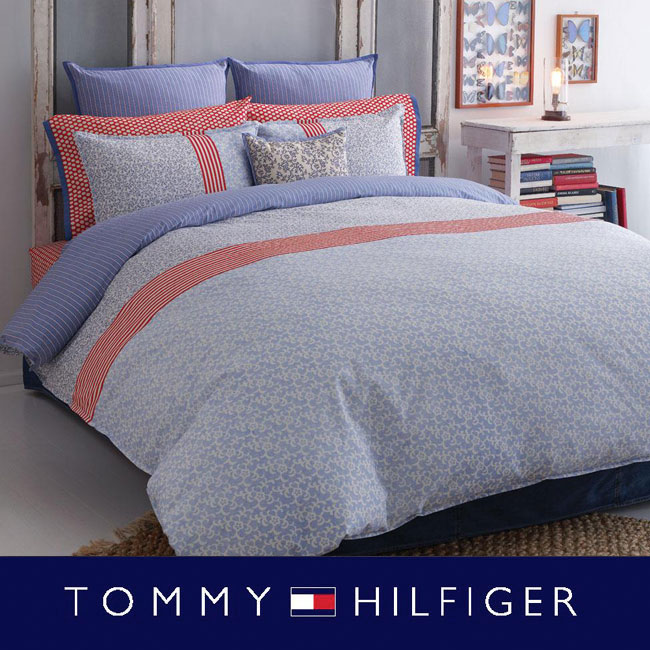 Tommy Hilfiger Boho 200 Thread Count Full/ Queen-size Duvet Cover Set