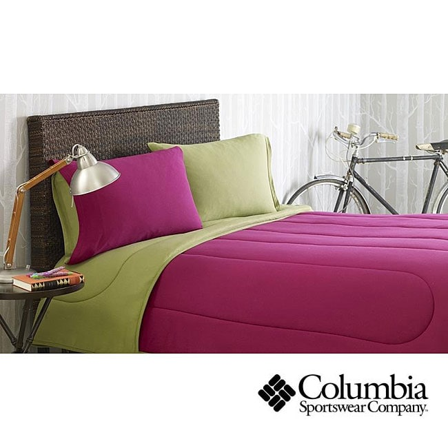 Columbia Jersey Knit Hollyberry Full/ Queen-size Comforter Set