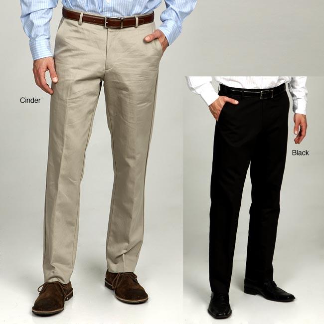 Calvin Klein Men's Lux Cotton/Linen Blend Pants - Free Shipping On ...