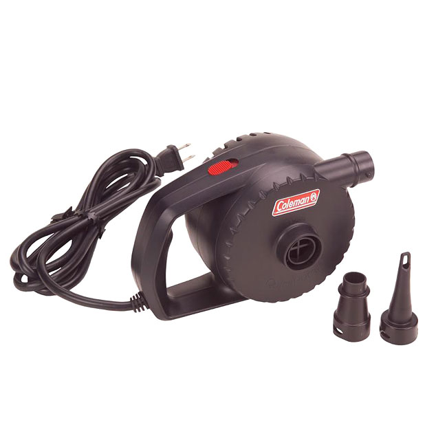 Coleman ABS and Glass AC 120-volt Quickpump Air Pump with Adapters