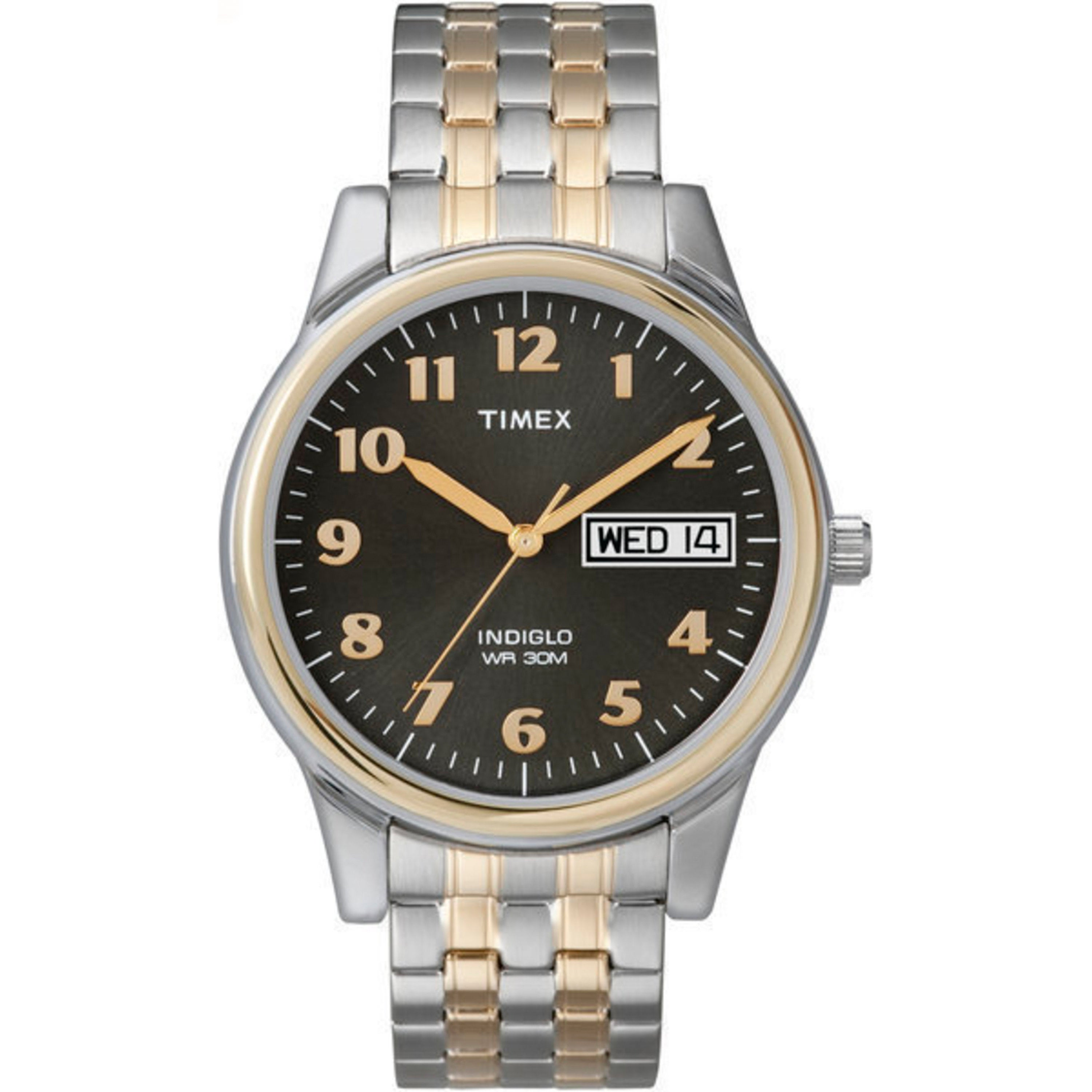 Timex Men's T26481 Elevated Classics Stainless Steel Expa...