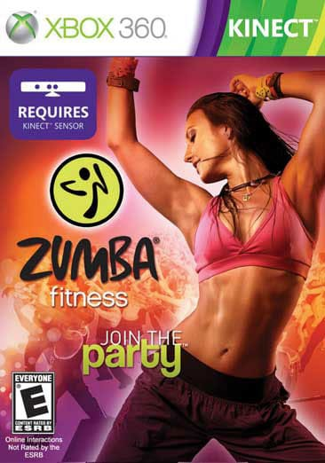 Xbox 360 - Zumba Fitness (Kinect) - By Majesco