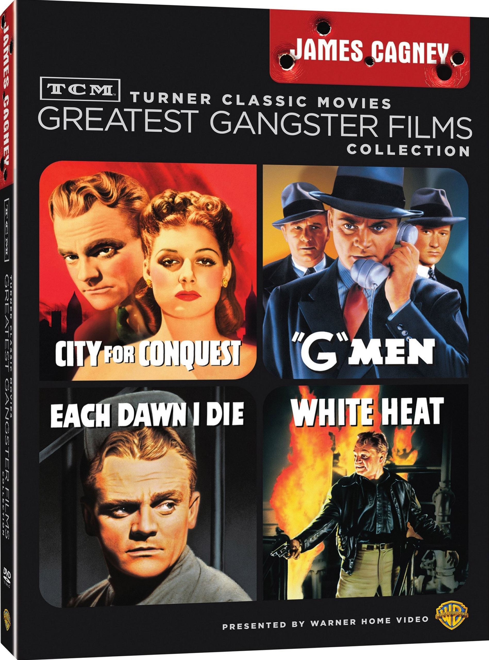 TCM Greatest Classic Films: Gangsters James Cagney (DVD)