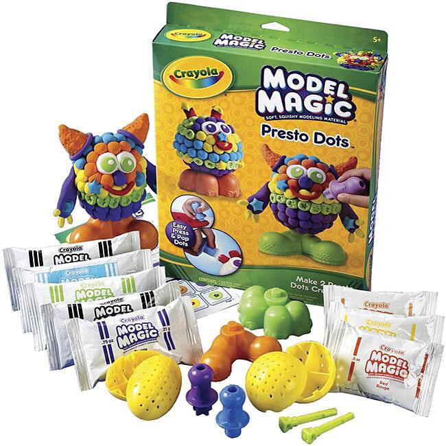 Crayola Model Magic 'Creatures' Presto Dots Dual Kit