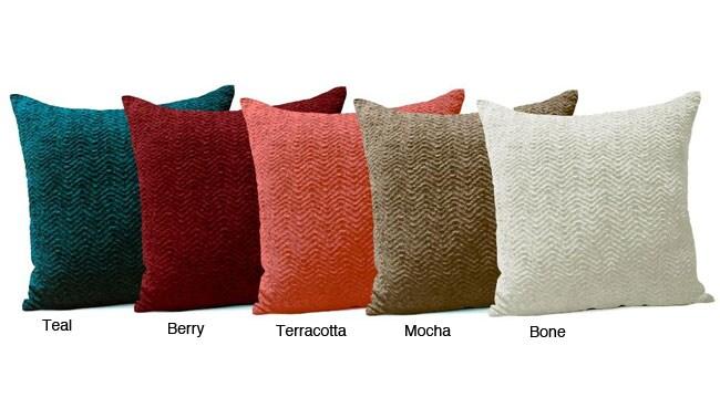 Jovi Home Chenille Decorative Pillows