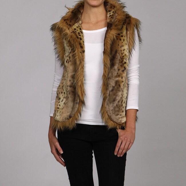 Lauren Hansen Women's Faux Fur Vest
