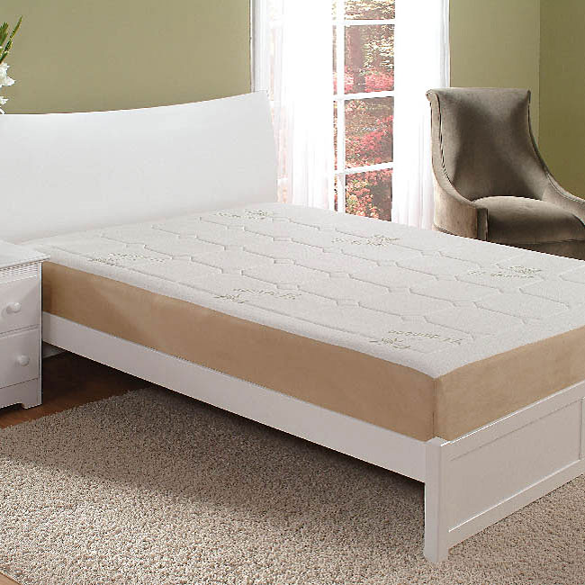 Home Fashion International 8-inch King-size Memory Foam Mattress