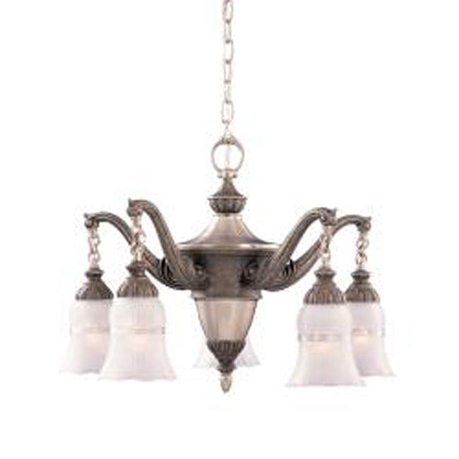 Tuscan Gold 5-light Chandelier - Thumbnail 0