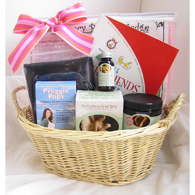 Baby Gift Basket Essentials : The expecting mama essentials gift basket free shipping