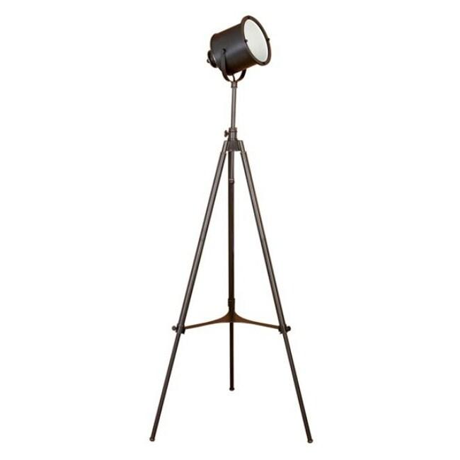 Adjustable Photographer S Metal Tripod Floor Lamp Free Shipping Today Overstock Com 12992213