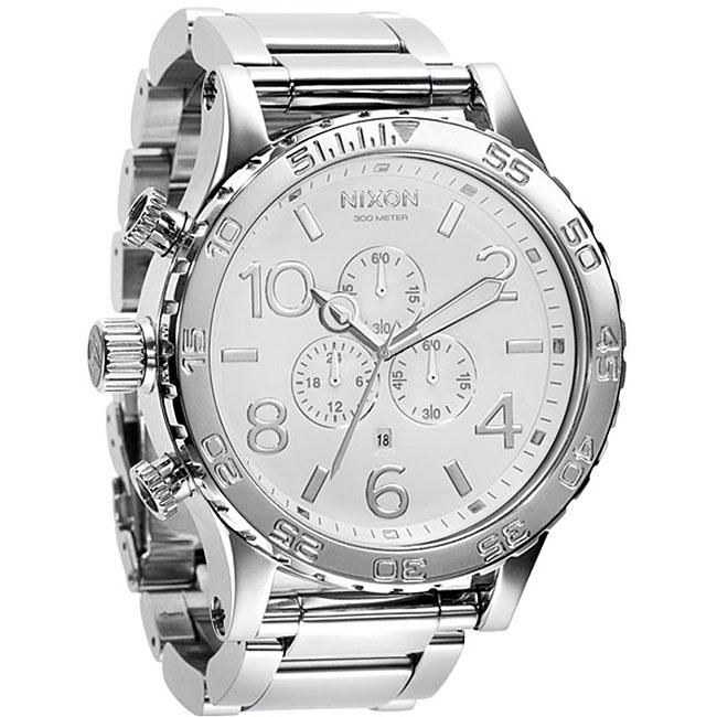 Nixon 51-30 Men's High-polish Stainless Steel Watch