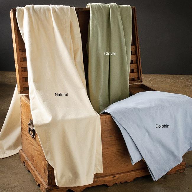 European King-size 11-ounce Flannel Blanket