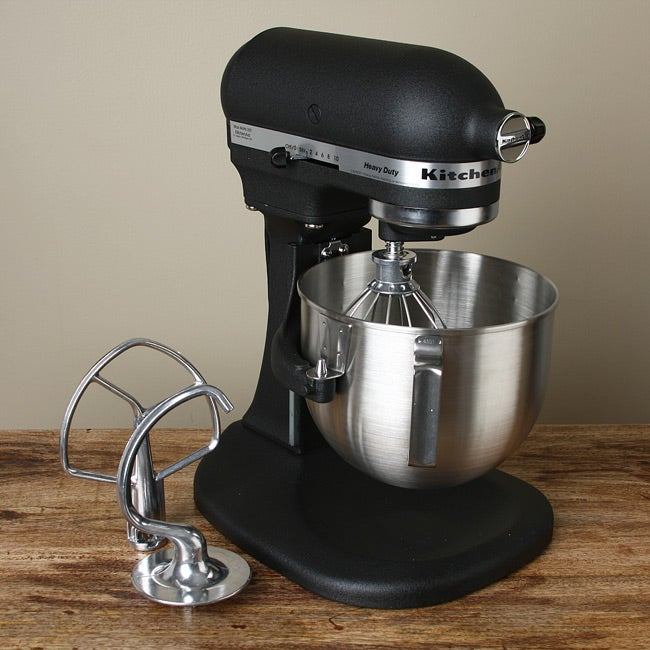 Kitchenaid Rrkp50bk Imperial Black Professional Heavy Duty