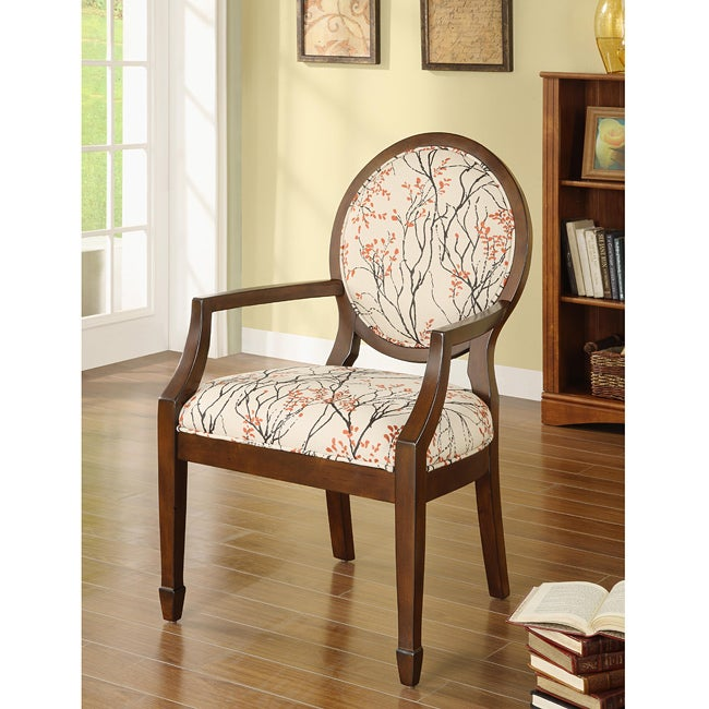 Oval Back Myla Accent Chair Free Shipping Today