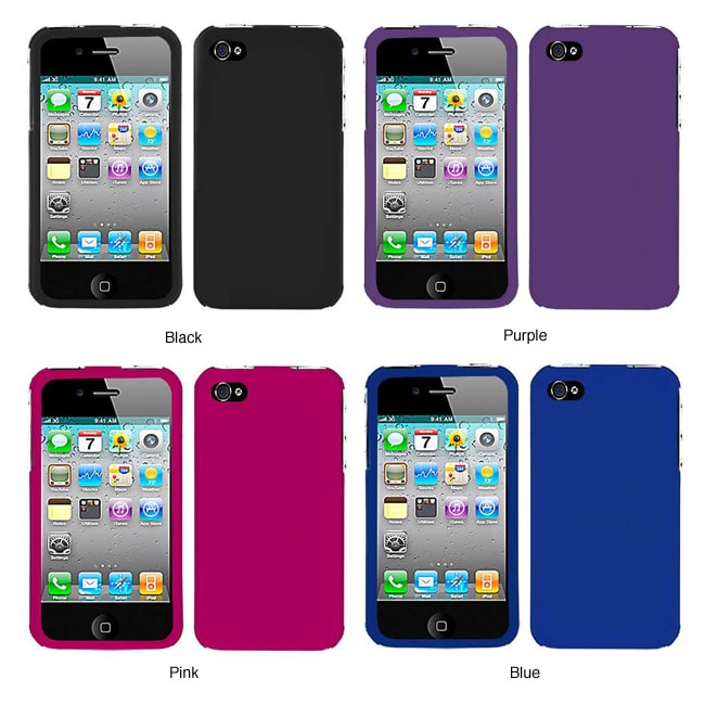 Premium Apple iPhone 4 Rubberized Case - Thumbnail 0