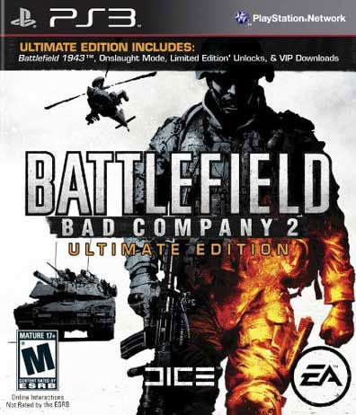 PS3 - Battlefield Bad Company 2 Ultimate Edition