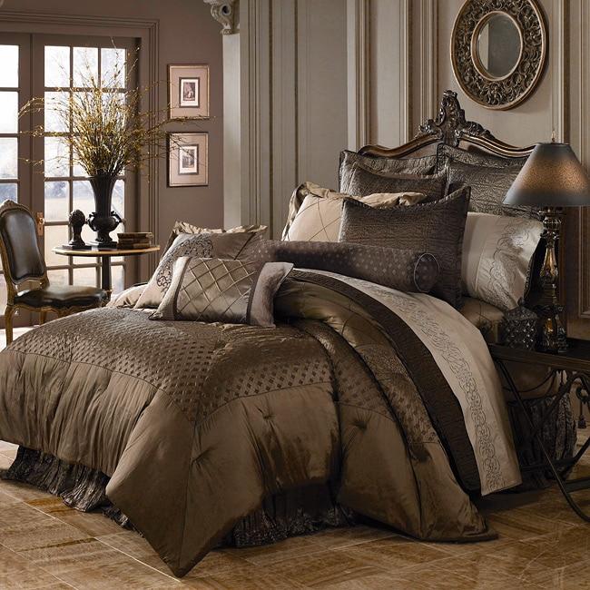 Luxe Versailles 39 Rivoli 39 Iridescent Silk King Size Comforter Set Fr