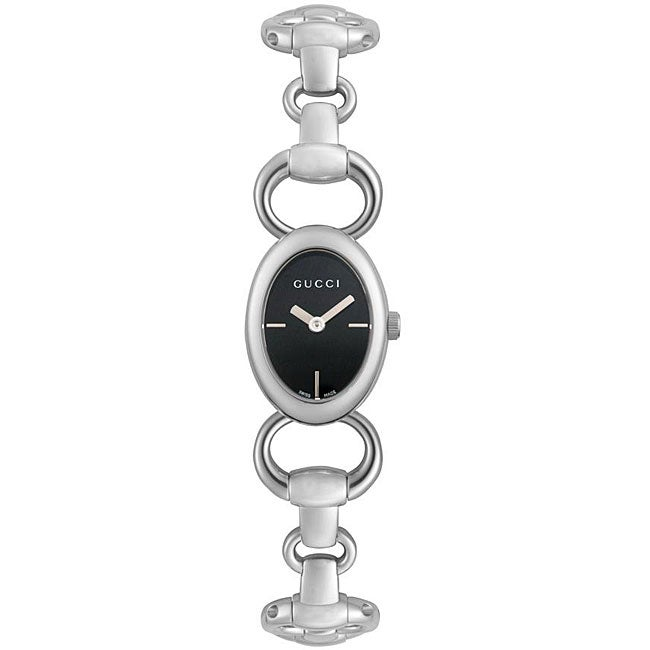 012c6330896 Shop Gucci Women s Tornabuoni Stainless Steel Watch - Free Shipping Today -  Overstock - 5162318
