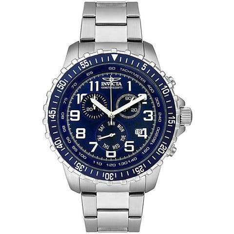Invicta Men's 6621 'Specialty' Stainless Steel Watch - Multi