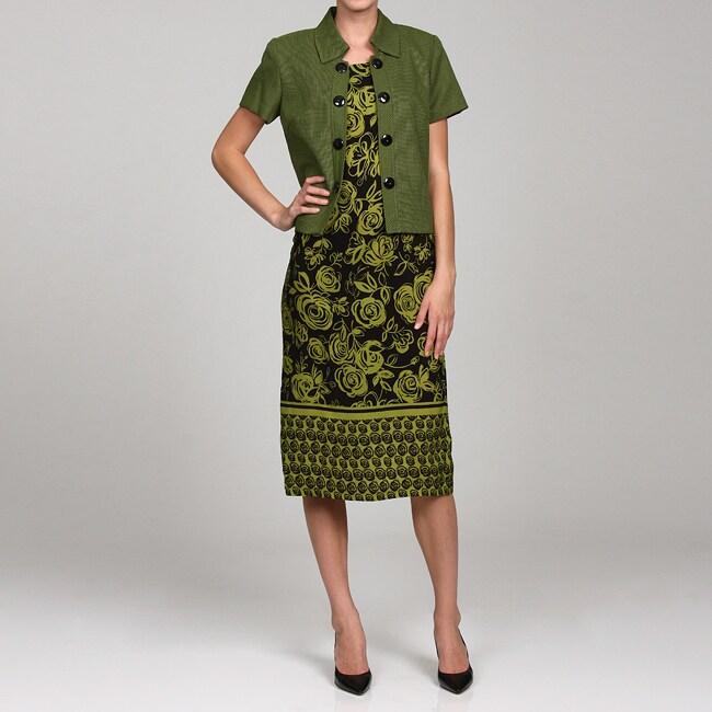 Dana Kay Women&39s 2-piece Jacket Dress Set - Free Shipping On