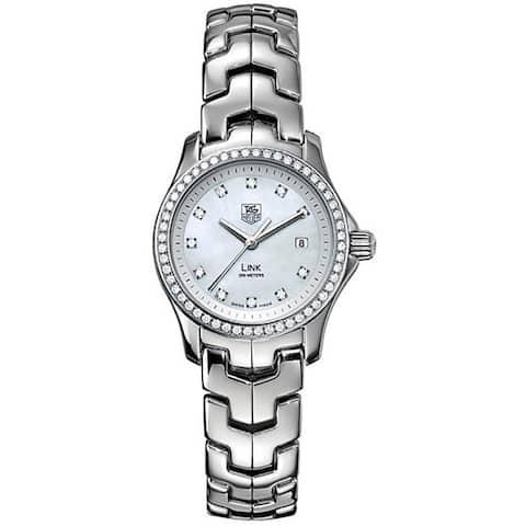 Tag Heuer Women's WJF1319.BA0572 'Link' Stainless Steel Watch