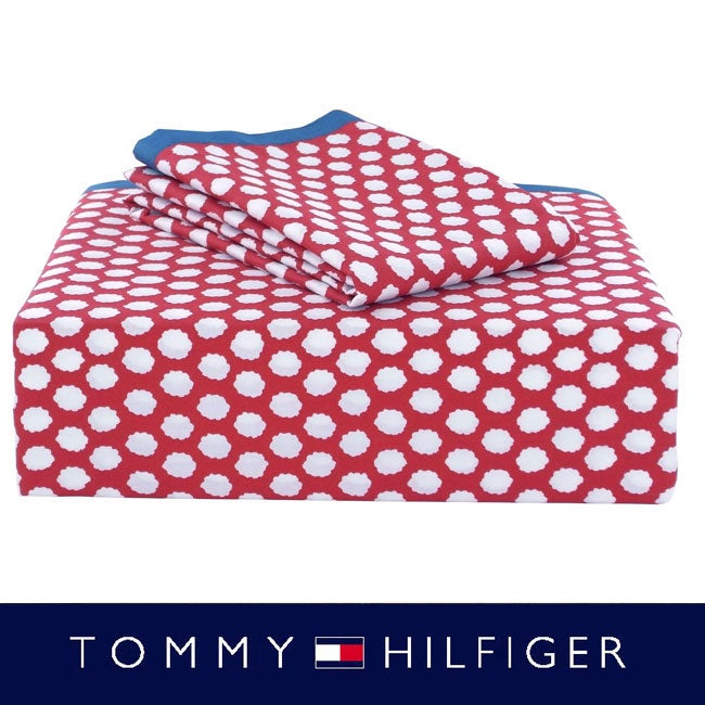 Tommy Hilfiger Boho 300 Thread Count Full-size Sheet Set
