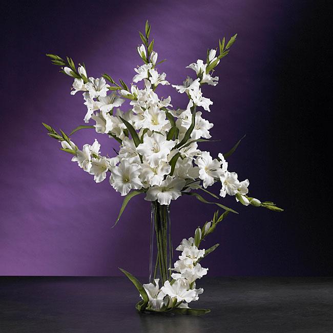 Artificial Gladiola Stems (Set of 12)