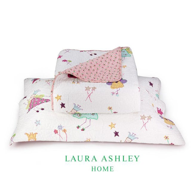 Laura Ashley Fun Fairies Twin-size 2-piece Quilt Set
