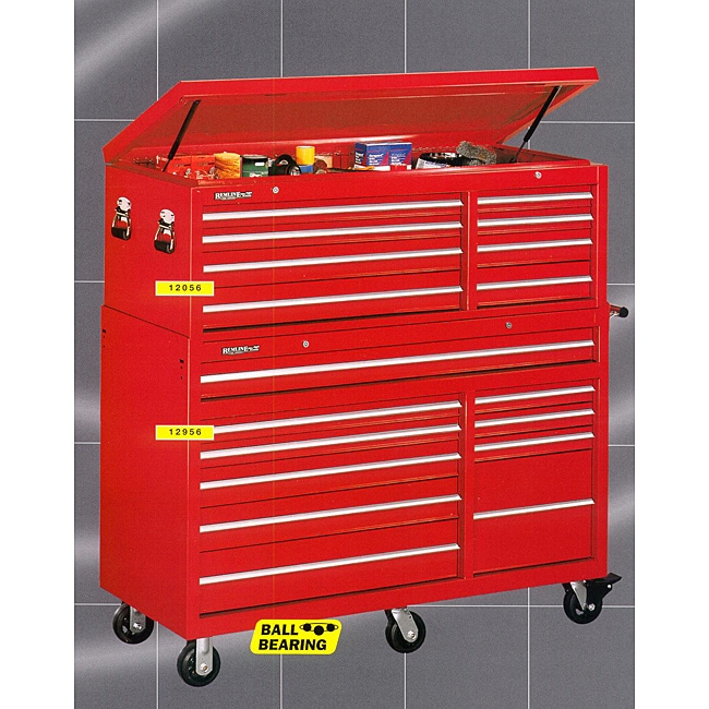 large tool boxes for sale stack on remline 56 inch wide 18 drawer cabinet combo 8906