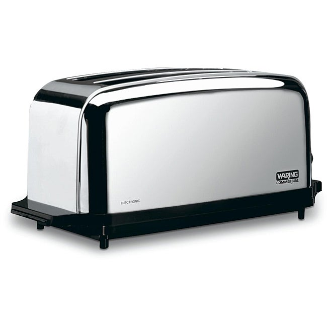 Waring Chrome 2-slot 4-slice Capacity Toaster
