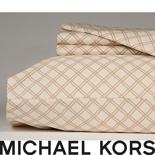 Michael Kors Phuket 300 Thread Count King-size Sheet Set