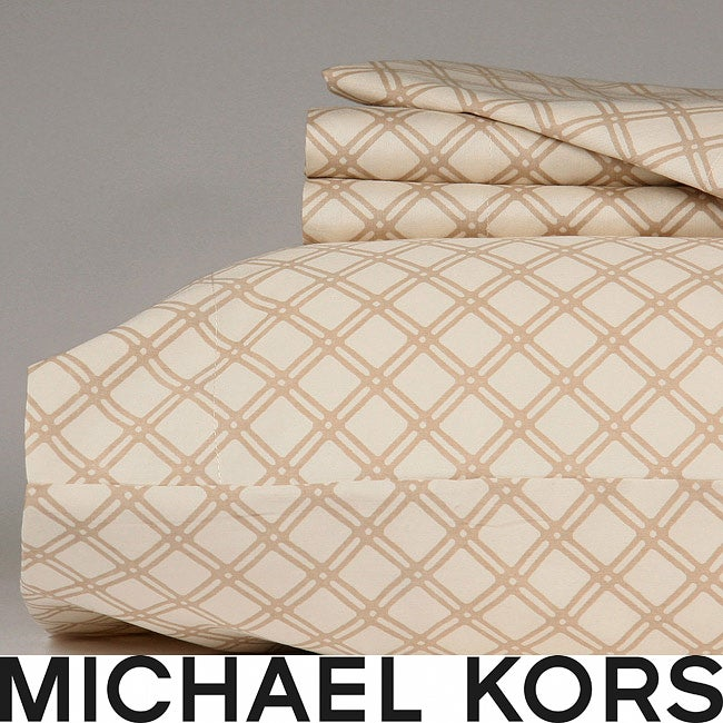 Michael Kors Phuket 300 Thread Count Cal King-size Sheet Set