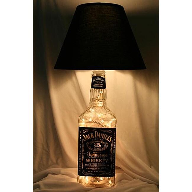 Large Jack Daniels Lighted Liquor Bottle Lamp