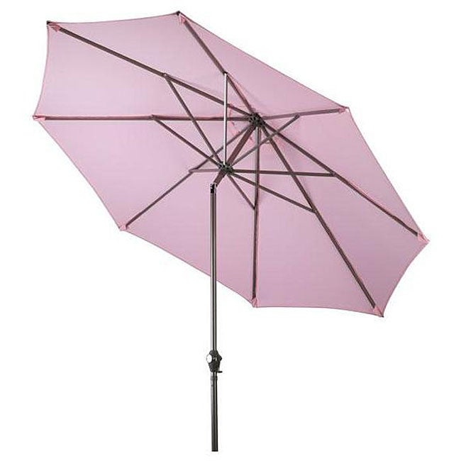 Aluminum Pink Patio Umbrella